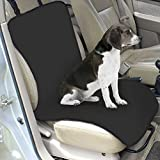 MMdex Water-proof Pet Car Front Seat Cover Dog Cat Puppy Seat Protector Mat Blanket Black