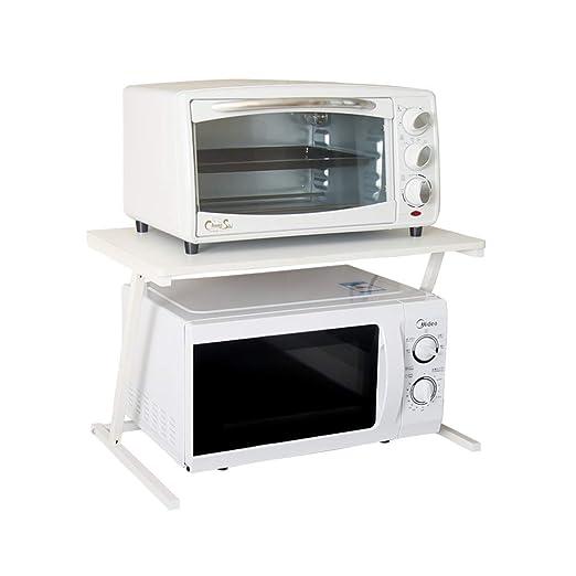 Estante de horno de microondas Estante de cocina Estante de ...