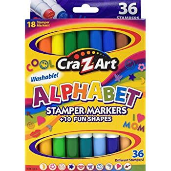 Amazon Com Cra Z Art Double Ended Stamper Markers