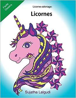 Licorne Coloriage Licornes Le Petit Livre De Coloriage Licorne