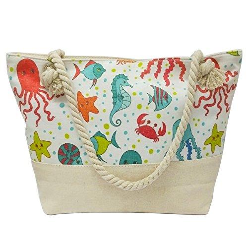 Women's Beach Bags, Duffel Bag Tote, Straw Bag,
