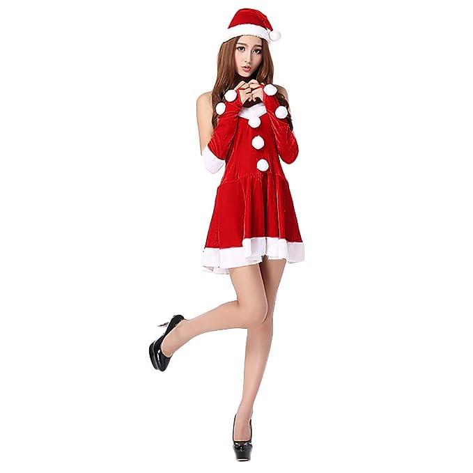 LIMITA - Disfraz de Navidad para Mujer, Falda Sexy, Ropa Interior ...