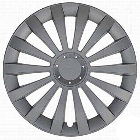 "Tapacubos Meridian compatible - Honda - Hyundai - Kia - Lada - 4 pzs (15"""