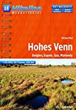 Hikeline Hohes Venn. Belgien, Eupen, Spa, Malmedy, 426 km,  1 : 35 000, GPS-Tracks Download, wasserfest