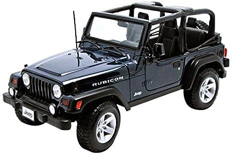 Amazon Com Jeep Wrangler Rubicon Diecast Metal 1 18 Scale Special
