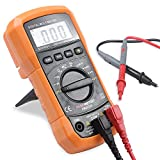 ESYWEN Digital Multimeter 2000 Counts Auto-Ranging Multimeter Measuring Amp/Ohm/Diode/Frequency Voltage Tester Multi Tester with Backlight LCD Display