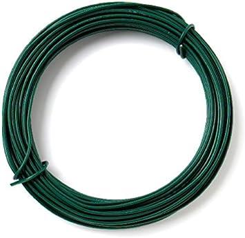 2.0 mm Diameter x 20 Metre Green Bulk Hardware BH05777 Plastic Coated Garden Wire 65 Foot