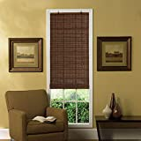 Radiance 0216300 Venezia Roll-Up Blind, 30-Inch Wide by 72-Inch Long, Cocoa