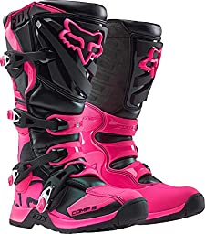 2017 Fox Racing Womens Comp 5 Boots-Black/Pink-8