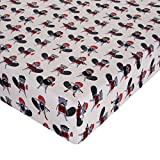 Glenna Jean Beaver Buddies Crib Sheet Fitted 28''x52''x8'' Nursery Standard