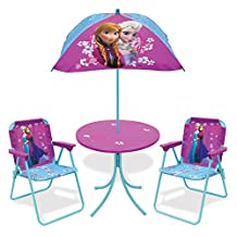 Disney Frozen Children's Patio Set (2 Folding Chairs, Table & Umbrella)
