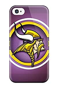 Hot Tpye Minnesota Vikings Case For Iphone 4/4S Cover