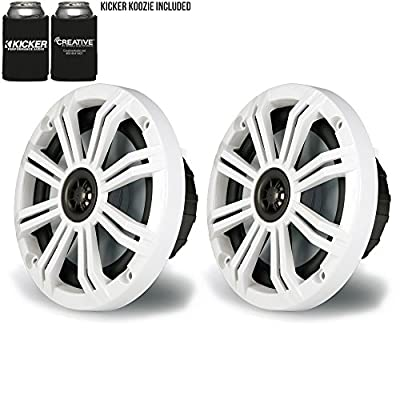 "Kicker 6.5"" Marine Speakers (Qty 2) 1 Pair of OEM Replacement Speakers by Kicker"
