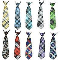 10Pcs/Pack Baby Boys Pet Necktie for Cat Dog Tie Collar Assorted Big Size