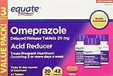 Equate Omeprazole 20 Milligram, Acid Reducer, Delayed Release, 42 Capsules