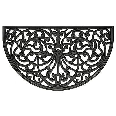 Achim Wrought Iron Rubber Ironworks Doormat