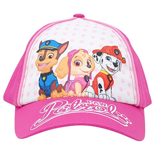 Nickelodeon Paw Patrol Girls Hat, Pink Toddlers Adjustable Cap with Ribbon, Age 2-5