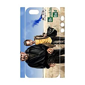 D-PAFD Cell phone Protection Cover 3D Case Breaking bad For Iphone 5,5S