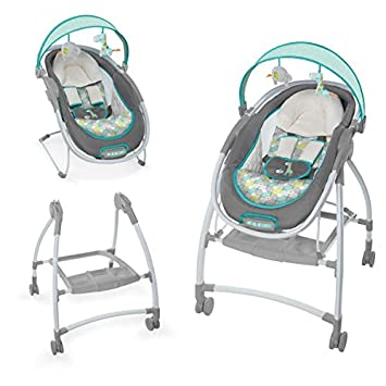 42df176f7 Amazon.com   Ingenuity InReach Mobile Lounger and Bouncer   Baby