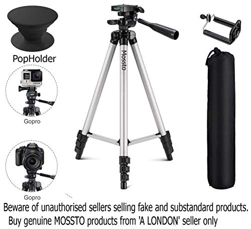 Aluminium Alloy Tripod Stand Holder : Mobile Phones