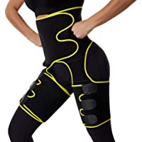 Asudaro Afslankriem voor dames, 3-in-1, verstelbare Siamese riem, heuptrimmer fitnessriem, afslankgordel voor dijen…