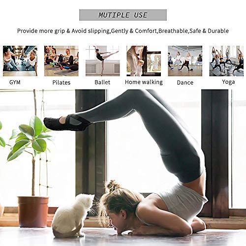 GOAMZ Yoga Socken rutschfeste