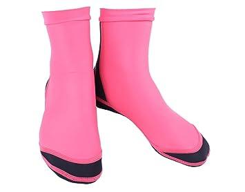 Playa de neopreno 1,55 calcetín, calcetines de aletas de natación para las mujeres, los hombres: Amazon.es: Deportes y aire libre