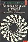 Sciences de la vie et société par Gros