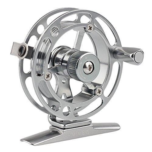HIMENLENS Mini Ice Fishing Reel All Metal Raft Wheel Ice Reel(HX-50L)