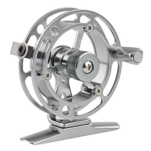 Rhino Steel Reel - HIMENLENS Mini Ice Fishing Reel All Metal Raft Wheel Ice Reel(HX-55L)