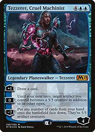 Cruel Machinist Planeswalker Deck Magic The Gathering Core 2019 Tezzeret
