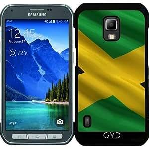 Funda para Samsung Galaxy S5 Active - Bandera De Jamaica by Carsten Reisinger