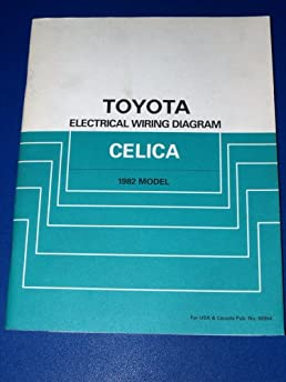 1982 toyota celica electrical wiring diagram toyota motor