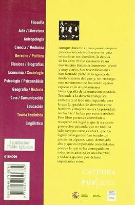 El movimiento feminista en España en los años 70 Feminismos: Amazon.es: Martínez Ten, Carmen, Gutiérrez López, Purificación, González Ruiz, Pilar: Libros