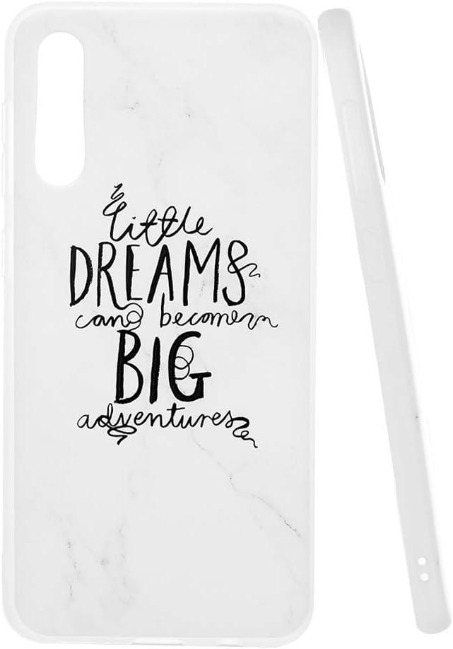 VoguSaNa A50 Handyh/ülle f/ür Samsung Galaxy A50 H/ülle Silikon Malen Marmor Muster Case Cover Marble Tasche D/ünn Schutzh/ülle Handytasche Damen Skin Softcase Schale Bumper TPU Handycover-Spr/üche 8