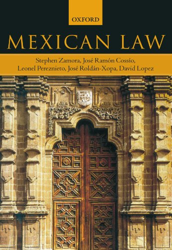 Mexican Law by Oxford University Press
