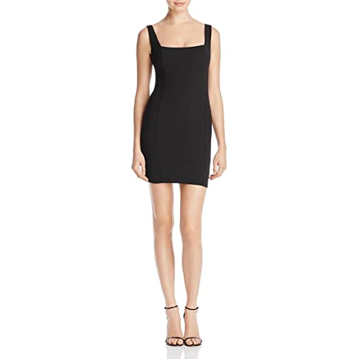 c68b34e31bc0 Nookie Womens Taylor Ribbed Sleeveless Mini Dress at Amazon Women's Clothing  store: