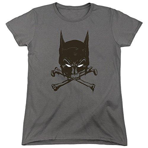 Batman DC Comics Bat And Bones Women's T-Shirt ()