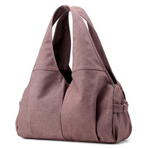 Frauen Jahrgang Leinwand Schulter Ipad Messenger Handtasche Einkaufen Die Universelle Einsatz Tasche ,C-OneSize