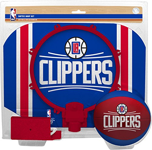 fan products of NBA Los Angeles Clippers Slam Dunk Softee Hoop Set