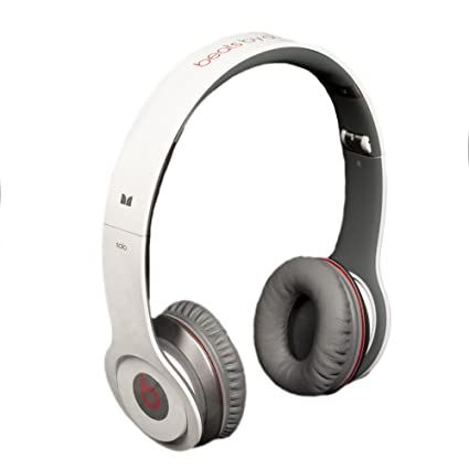Beats By Dr Dre Solo White On Ear Headphones With ControlTalk Discontinued