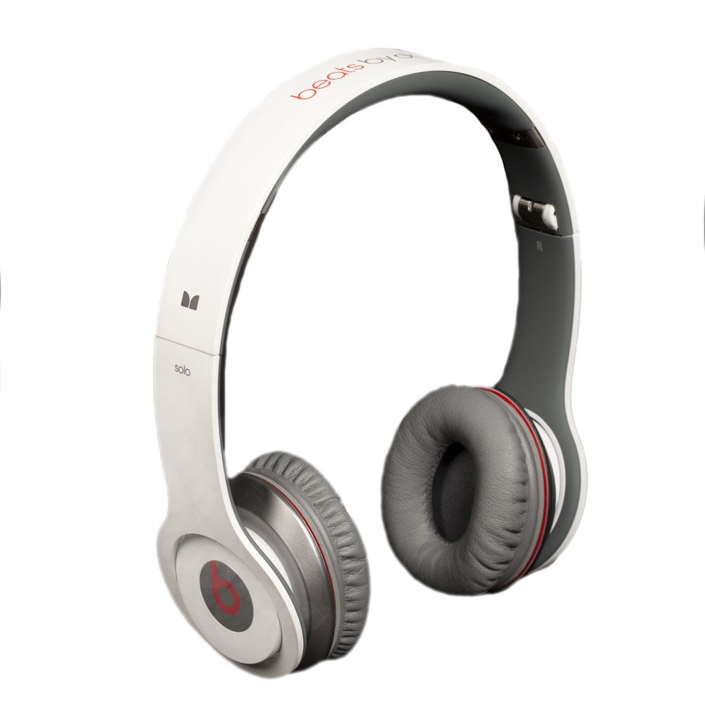 Beats by Dr. Dre Solo White On-Ear Headphones with ControlTalk (Discontinued by Manufacturer) by Beats