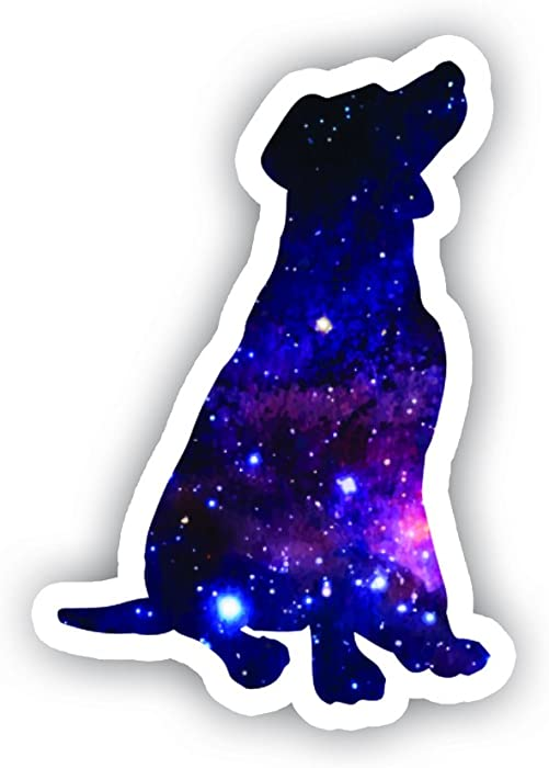 Dog Sticker Galaxy Collection - Laptop Stickers - 2.5