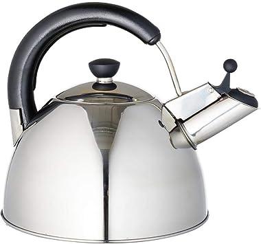 Edelstahl 2,5L Wasserkessel Flötenkessel Teekessel Wasserkocher Induktion