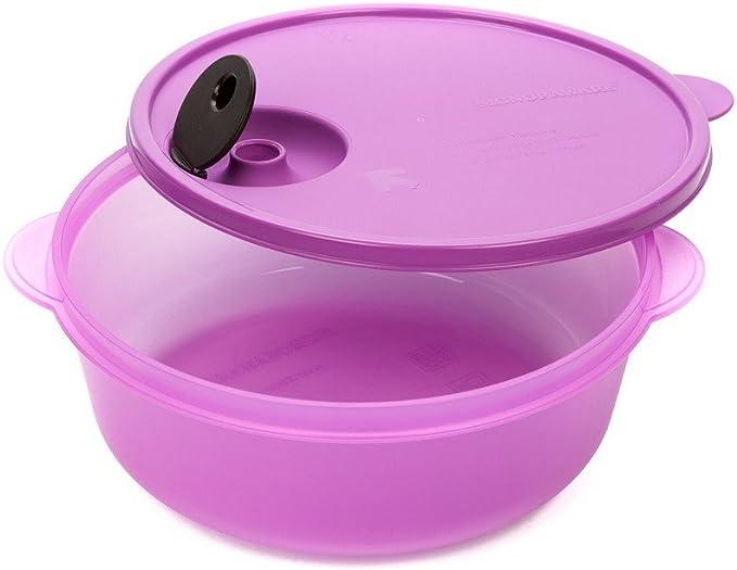 Signoraware Micro Delight Plastic Magic Bowl, 1.5 Liters/120mm, Purple Bowls