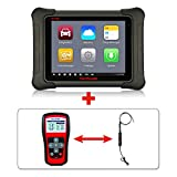 Autel Maxisys Elite+TS401+MV105 – Diagnostic Tool with Specific Car ECU Coding & Programming TPMS Diagnostics & Service and Inspection Video Scope & 2 Years Free Update