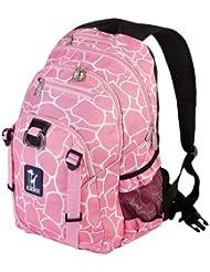 Wildkin Giraffe Serious Backpack, Pink, One Size