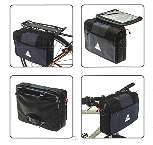 AXIOM BAG AXIOM HBAR iTABLET GY/BK