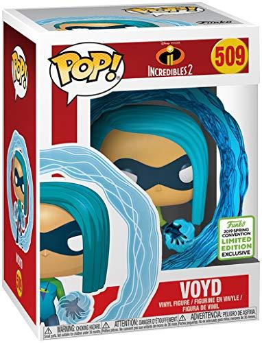 Funko Pop Disney Incredibles 2 - Voyd - 2019 Spring Convention Exclusive