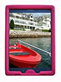 Bobj Rugged Case for Samsung Galaxy Tab A 9.7 inch Tablet, (SM-T550), Tab A Plus 9.7 inch (SM-P550), (Not for Tab A 10, SM-T580) - BobjGear Protective Tablet Cover (Rockin' Raspberry)
